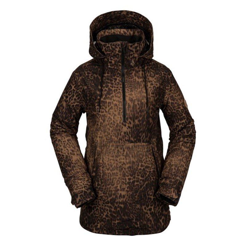 ボルコム レディース ジャケット・ブルゾン アウター Volcom Fern Insulated GORE-TEX Pullover Jacket - Women's Leopard