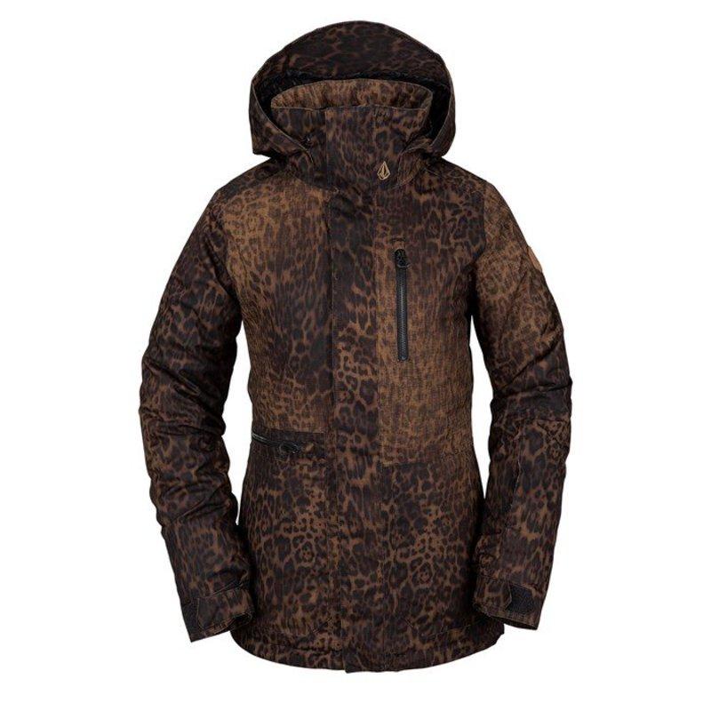 ボルコム レディース ジャケット・ブルゾン アウター Volcom Shelter 3D Stretch Jacket - Women's Leopard