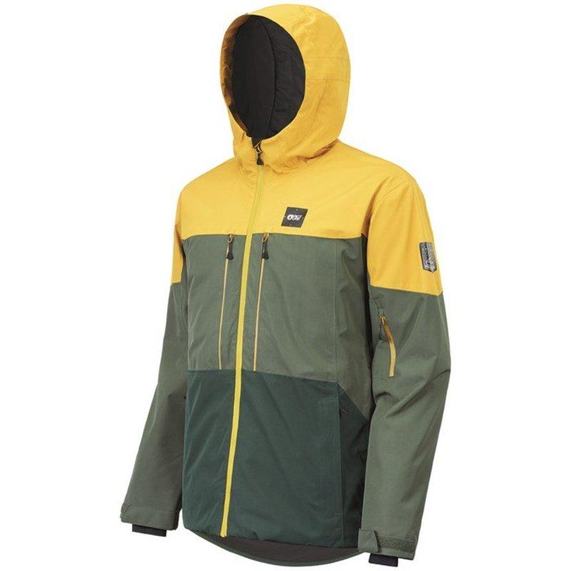 ピクチャー オーガニック メンズ ジャケット・ブルゾン アウター Picture Organic Object Jacket Lychen Forest Green