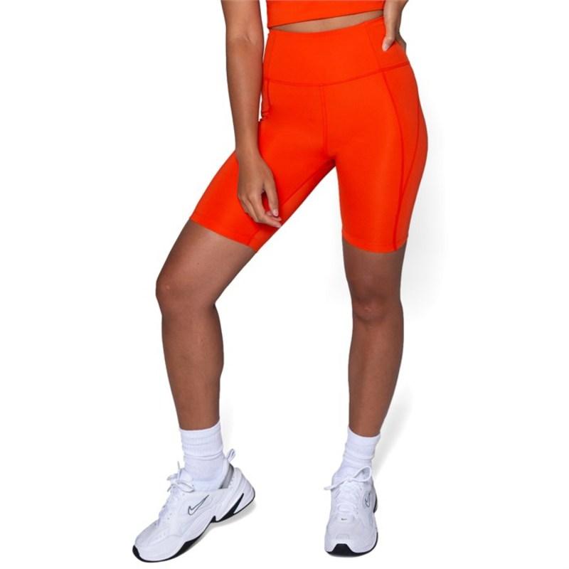 ガールフレンドコレクティブ レディース カジュアルパンツ ボトムス Girlfriend Collective High-Rise Bike Shorts - Women's Daybreak