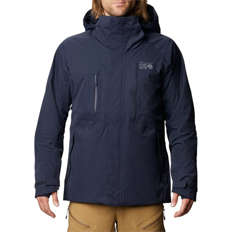 マウンテンハードウェア メンズ ジャケット・ブルゾン アウター Mountain Hardwear FireFall/2 Jacket Dark Zinc