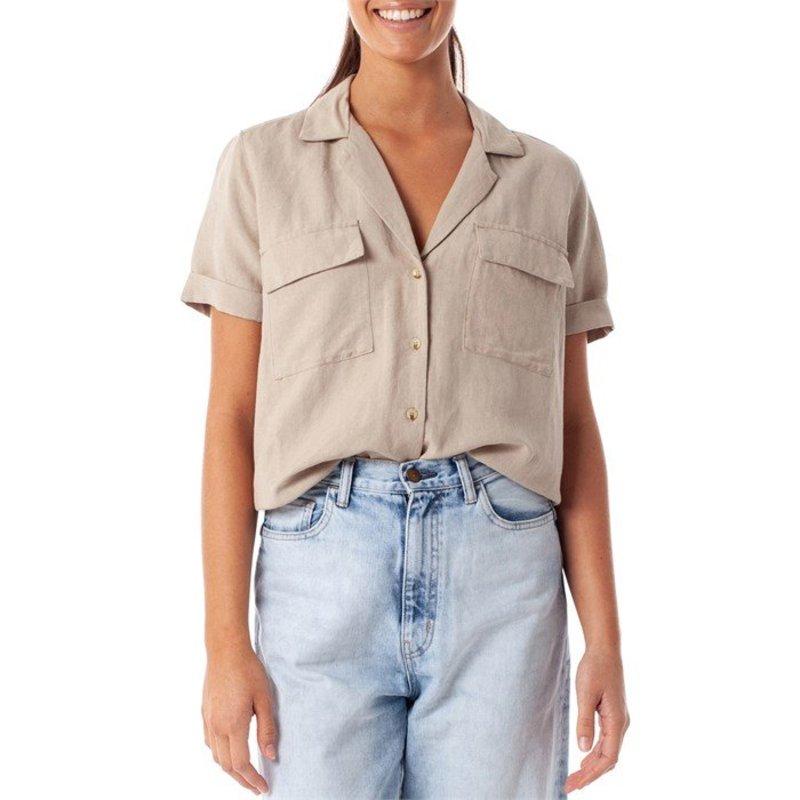リズム レディース Tシャツ トップス Rhythm Venice Shirt - Women's Elm