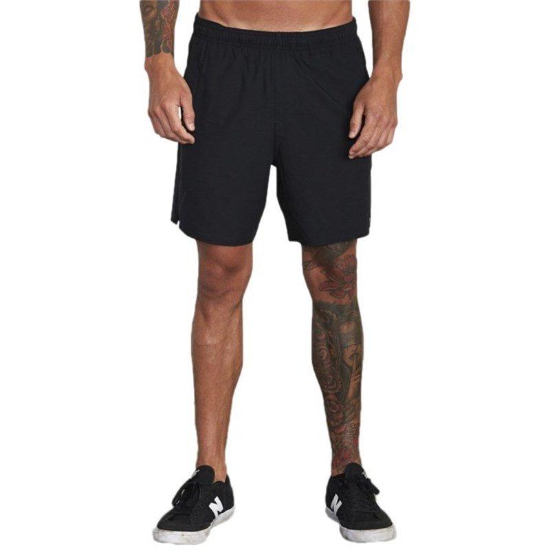 ルーカ メンズ カジュアルパンツ ボトムス RVCA Sport Yogger IV Shorts Black