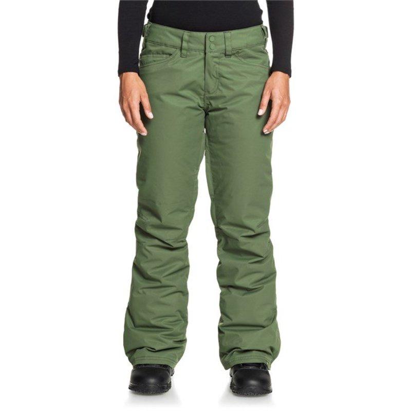 ロキシー レディース カジュアルパンツ ボトムス Roxy Backyard Pants - Women's Bronze Green