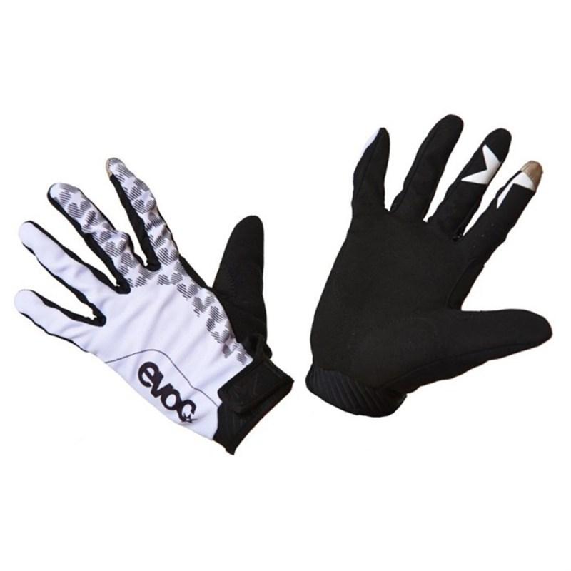 イーボック メンズ 手袋 アクセサリー EVOC Enduro Touch Bike Gloves White