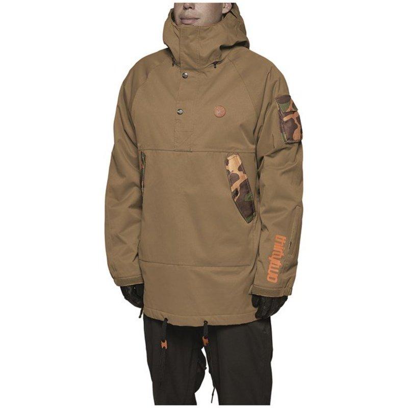 サーティーツー メンズ ジャケット・ブルゾン アウター thirtytwo Caravan Insulated Jacket Tobacco