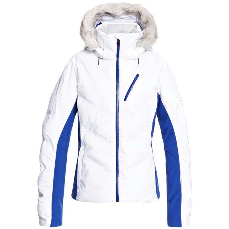 Jacket アウター Women's ジャケット・ブルゾン Roxy - Bright White Snowstorm レディース ロキシー