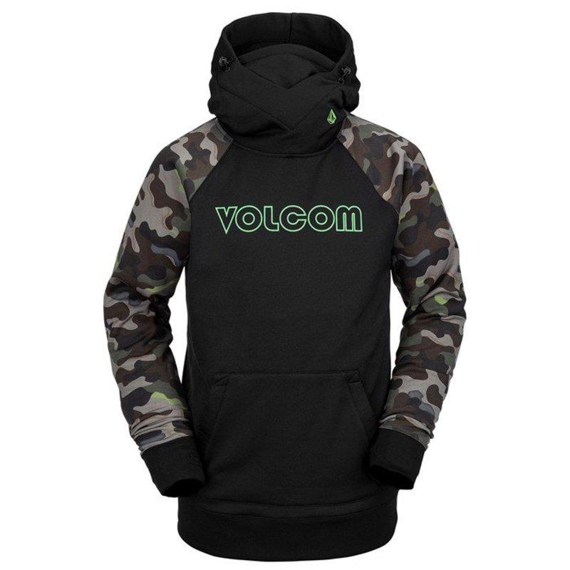 ボルコム メンズ シャツ トップス Volcom Hydro Riding Hoodie Army