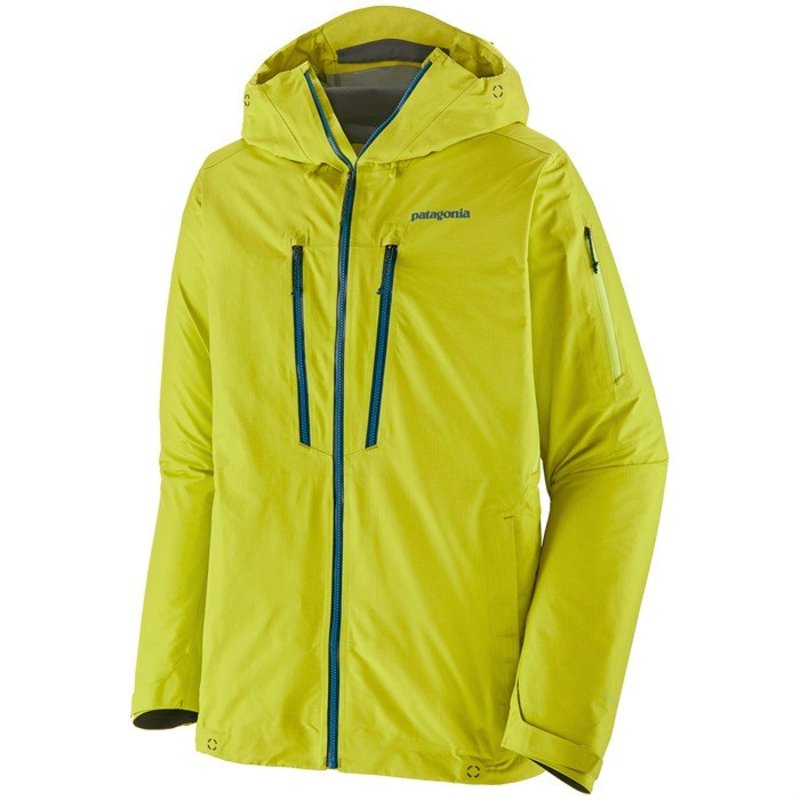 パタゴニア メンズ ジャケット・ブルゾン アウター Patagonia PowSlayer Jacket Chartreuse