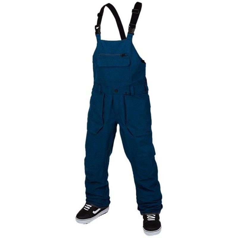 ボルコム メンズ カジュアルパンツ ボトムス Volcom Roan Bib Overalls Blue