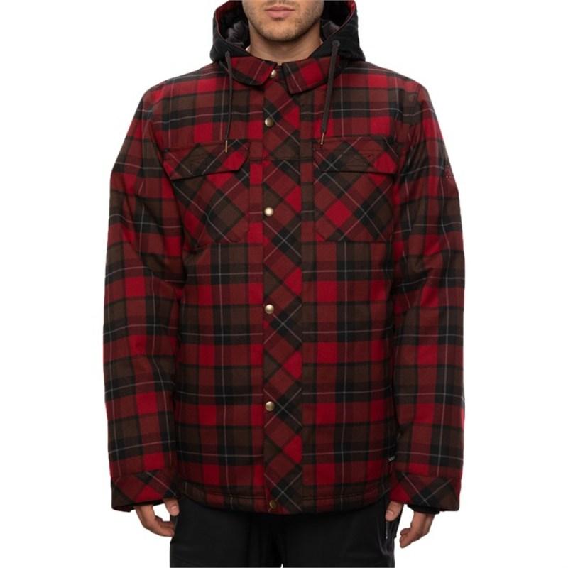シックスエイトシックス メンズ ジャケット・ブルゾン アウター 686 Woodland Insulated Jacket Oxblood Plaid
