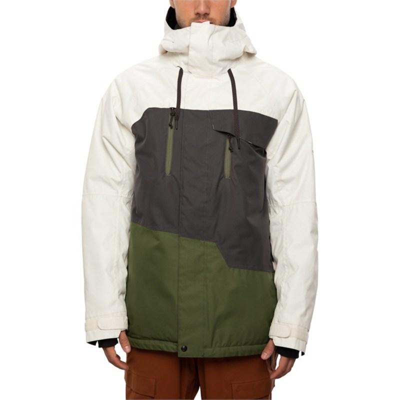 シックスエイトシックス メンズ ジャケット・ブルゾン アウター 686 Geo Insulated Jacket Birch Wash Colorblock