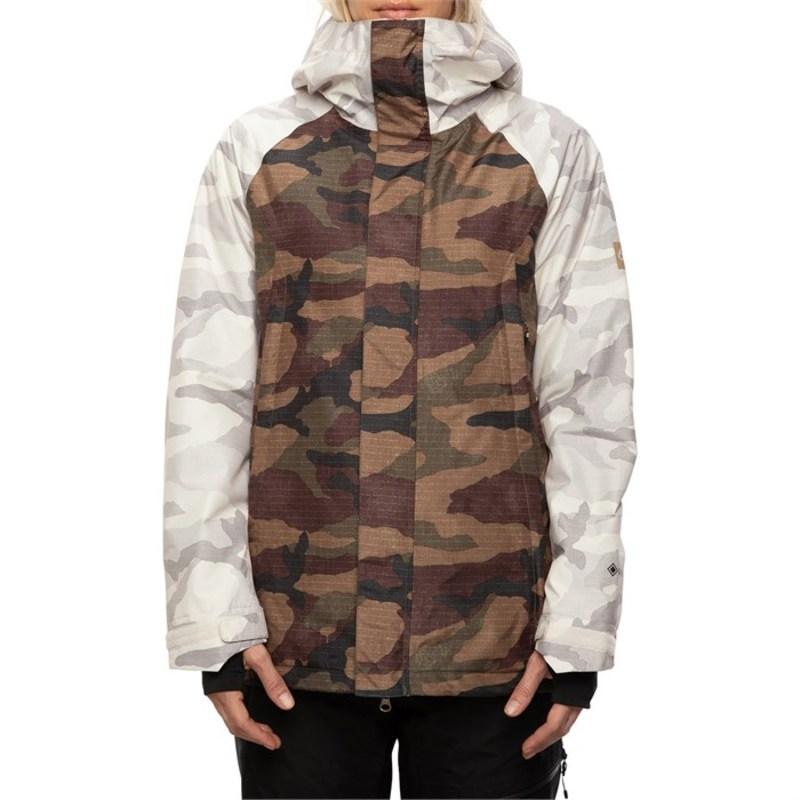 シックスエイトシックス レディース ジャケット・ブルゾン アウター 686 GLCR GORE-TEX Whitney Insulated Jacket - Women's Dark Camo Colorblock
