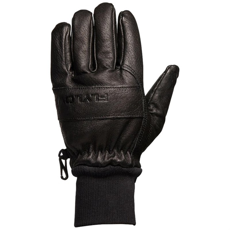 送料無料 サイズ交換無料 フライロー メンズ アクセサリー Gloves 買取 Flylow Ridge 市場 Black 手袋