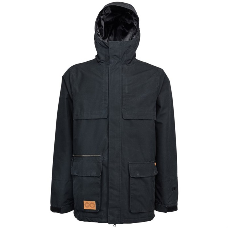 L1 メンズ ジャケット・ブルゾン アウター Brewin Jacket Black
