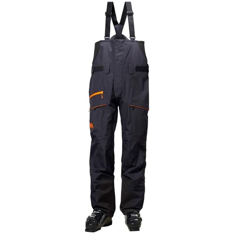 ヘリーハンセン メンズ カジュアルパンツ ボトムス SOGN Bib Shell Pants Graphite Blue