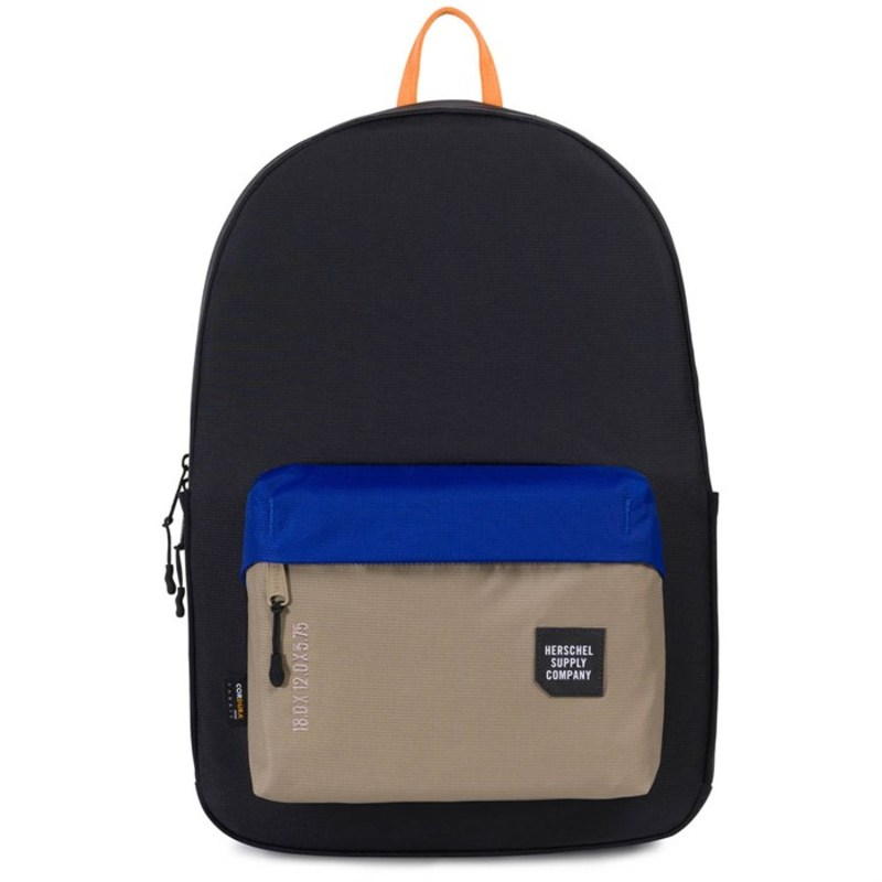 ハーシェルサプライ メンズ バックパック・リュックサック バッグ Rundle Backpack Grindle/Black/Surf the Web