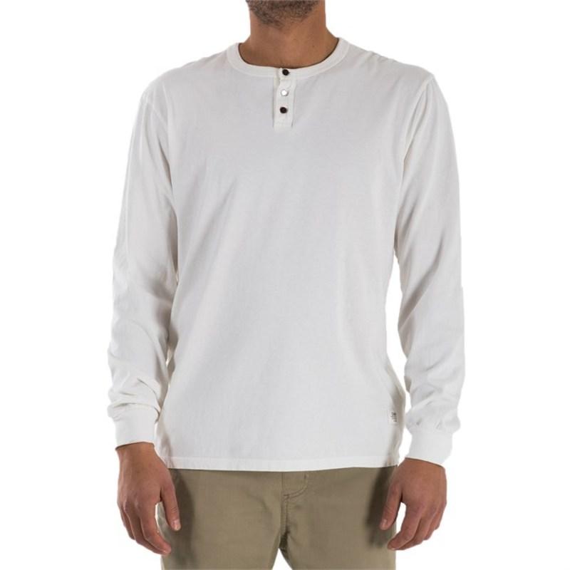ケイティン メンズ Tシャツ トップス Rogue Long-Sleeve Henley Shirt White