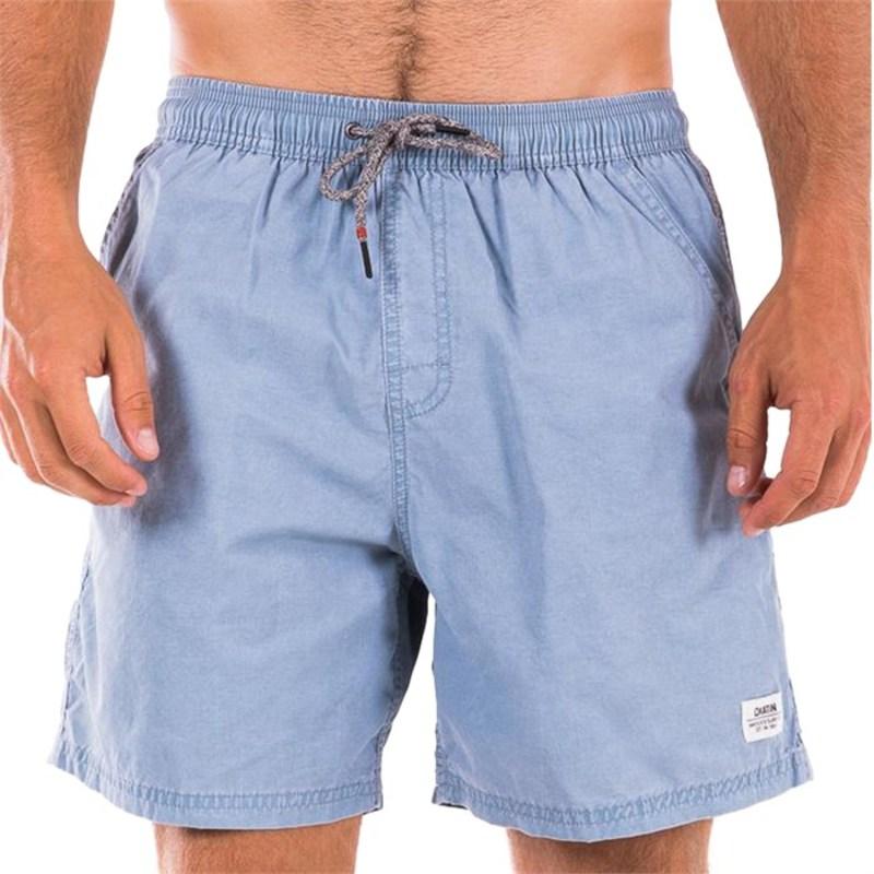 ケイティン メンズ ハーフパンツ・ショーツ 水着 Poolside Volley Trunks Light Blue