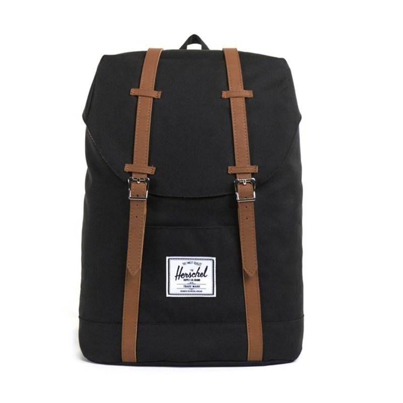 ハーシェルサプライ メンズ バックパック・リュックサック バッグ Retreat Backpack Black