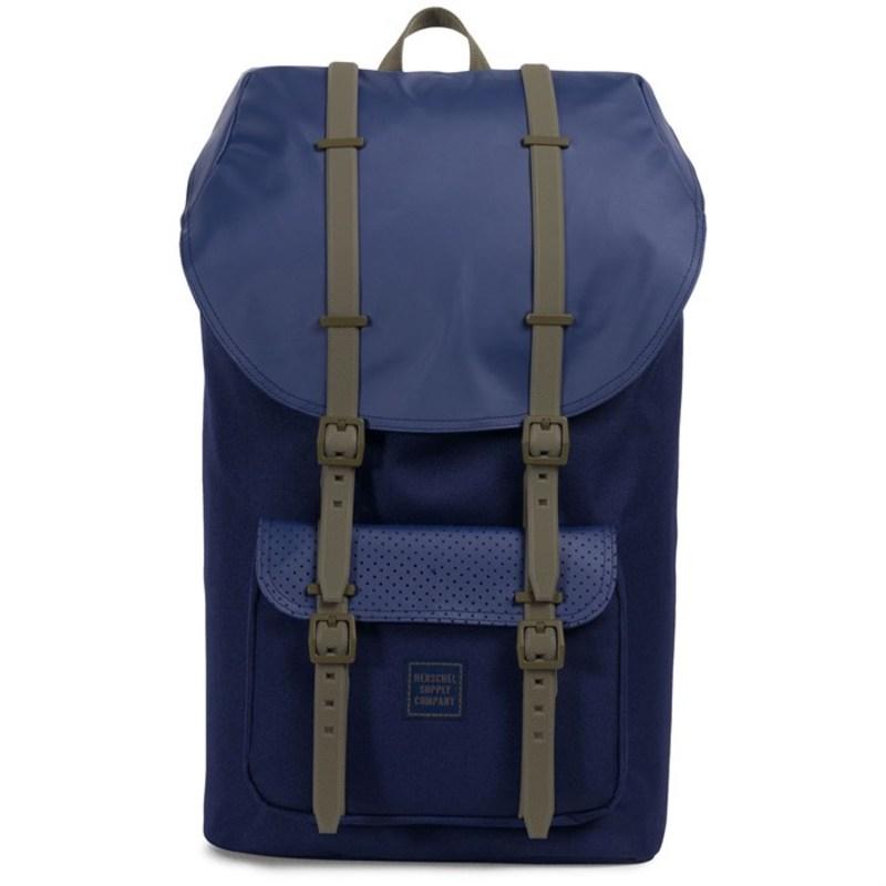 ハーシェルサプライ メンズ バックパック・リュックサック バッグ Little America Backpack Peacoat/Kalamata