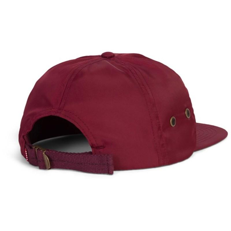 ハーシェルサプライ メンズ 帽子 アクセサリー Albert Hat Nylon Windsor Wine6gvbf7yY