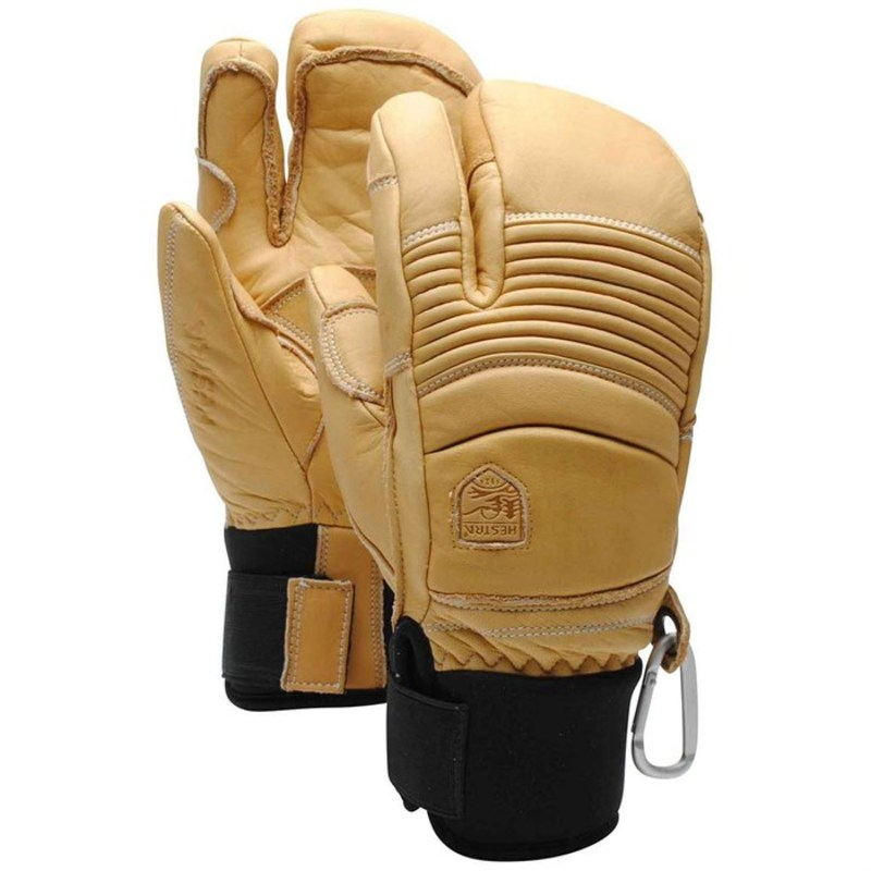 送料無料 サイズ交換無料 ヘストラ メンズ アクセサリー 手袋 Natural Fall Line 新商品 新型 Mittens Brown 3-Finger 送料無料激安祭 Hestra