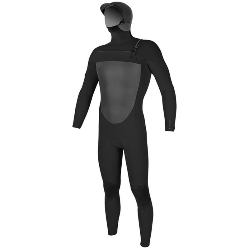 オニール メンズ 上下セット 水着 5/4 O'riginal F.U.Z.E. Hooded Wetsuit Black