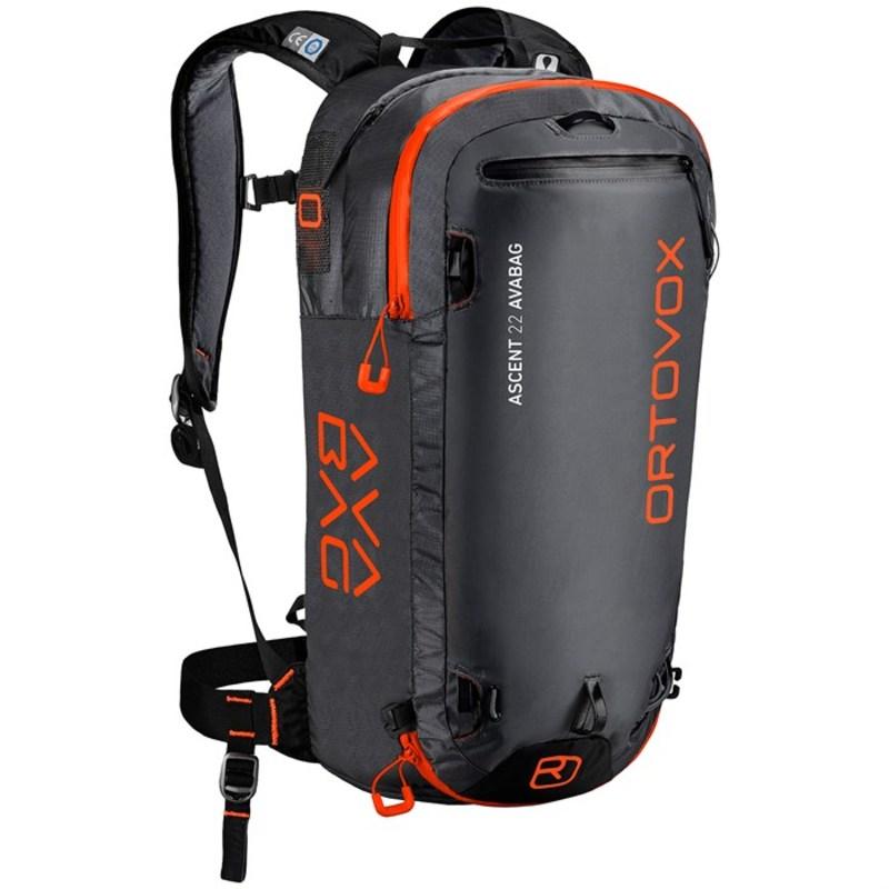 オルトボックス メンズ バックパック・リュックサック バッグ Ascent 22L Avabag Kit Airbag Black Anthracite