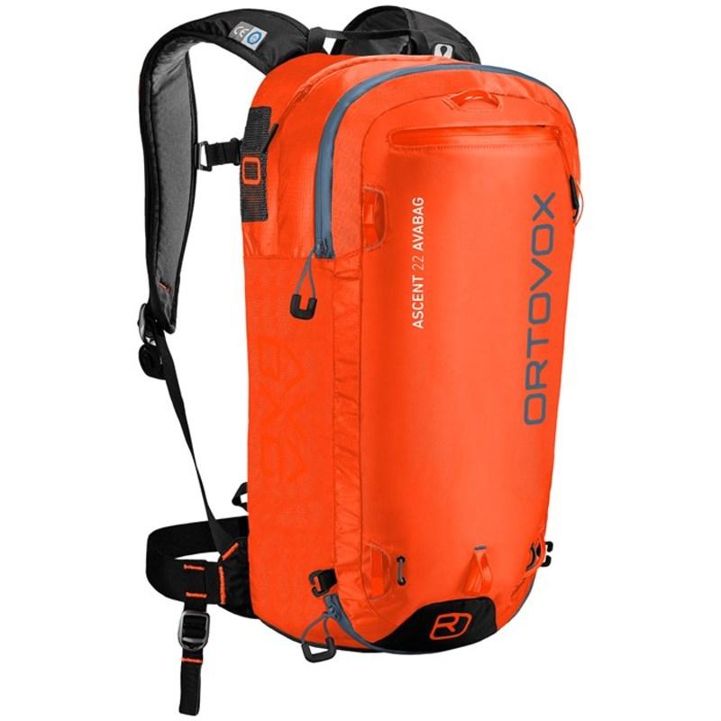 オルトボックス メンズ バックパック・リュックサック バッグ Ascent 22L Avabag Kit Airbag Crazy Orange