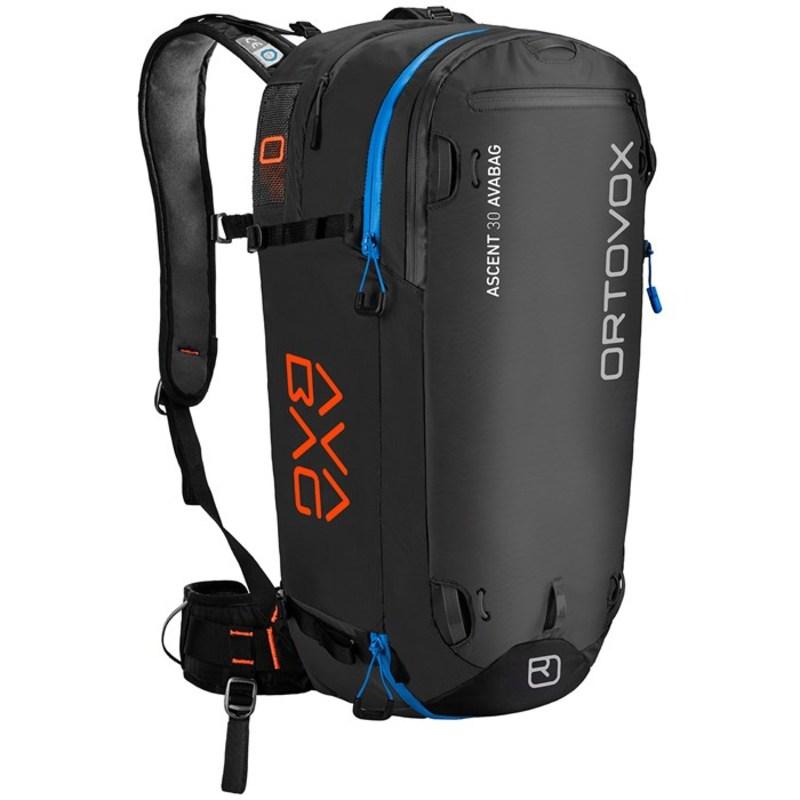オルトボックス メンズ バックパック・リュックサック バッグ Ascent 30L Avabag Kit Airbag Black Anthracite