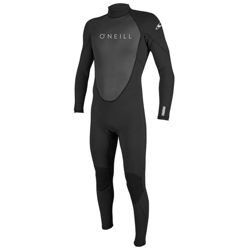オニール メンズ 上下セット 水着 3/2 Reactor II Back Zip Full Wetsuit Black