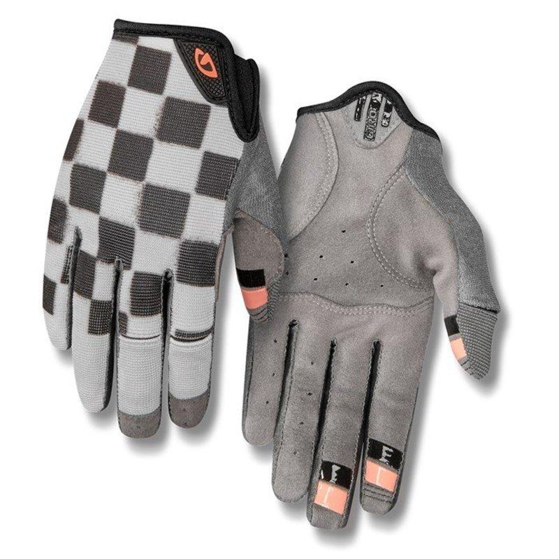 送料無料 サイズ交換無料 ジロ レディース アクセサリー 手袋 超安い Checkered Peach Gloves デポー Bike LA DND Giro - Women's