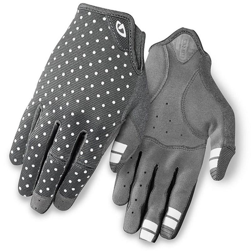 送料無料 サイズ交換無料 ジロ レディース アクセサリー 手袋 Dark Shadow White ブランド品 ブランド買うならブランドオフ Dots Giro Women's Bike Gloves DND LA -