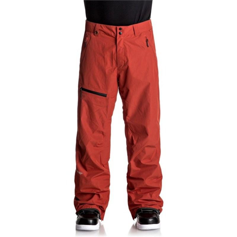 クイックシルバー メンズ カジュアルパンツ ボトムス Forever 2L GORE-TEX? Pants Ketchup Red