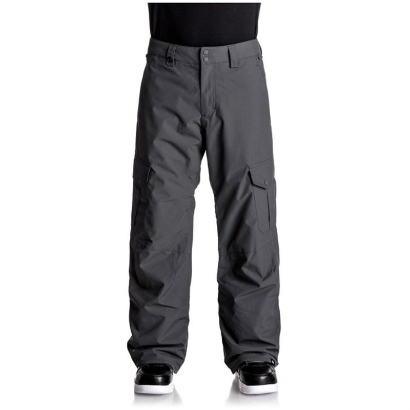 クイックシルバー メンズ カジュアルパンツ ボトムス Porter Insulated Pants Dark Shadow