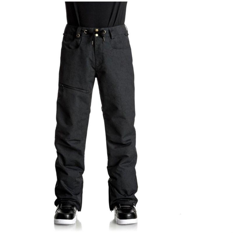 クイックシルバー メンズ カジュアルパンツ ボトムス Forest Oak Pants Black