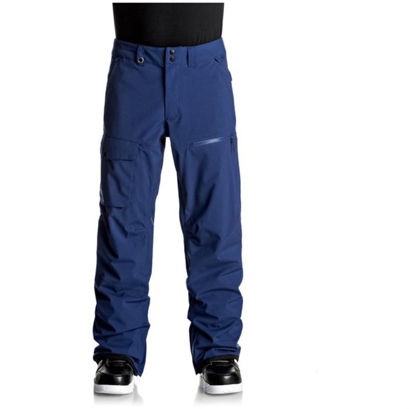 クイックシルバー メンズ カジュアルパンツ ボトムス Utility Stretch Pants Estate Blue