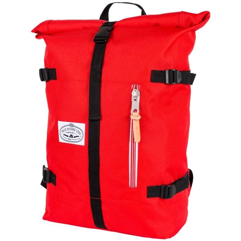 ポーラー メンズ バックパック・リュックサック バッグ Classic Rolltop Backpack Bright Red