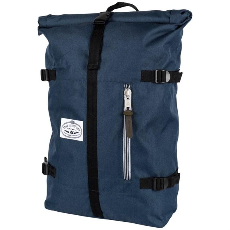 ポーラー メンズ バックパック・リュックサック バッグ Classic Rolltop Backpack Navy