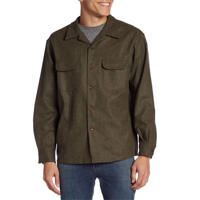 ペンドルトン メンズ シャツ トップス Board Shirt? Classic Fit Flannel Peat Moss Mix Solid