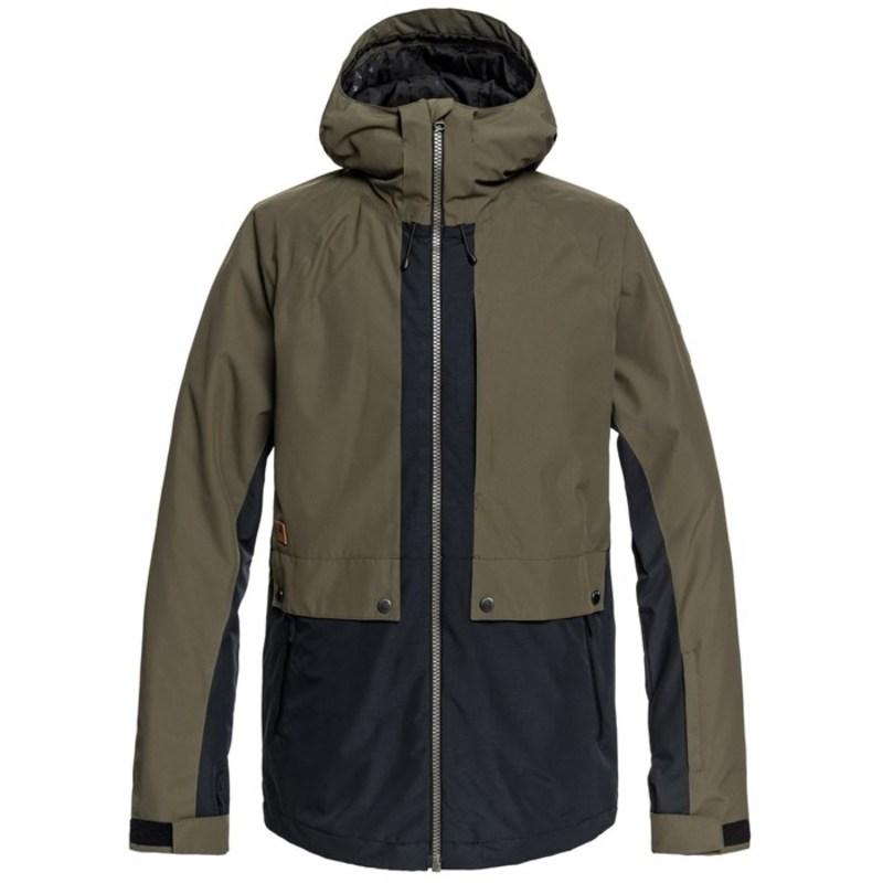 クイックシルバー メンズ ジャケット・ブルゾン アウター TR Ambition Jacket Grape Leaf
