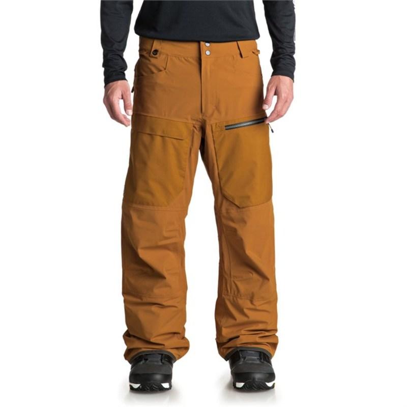 クイックシルバー メンズ カジュアルパンツ ボトムス TR Stretch Pants Golden Brown