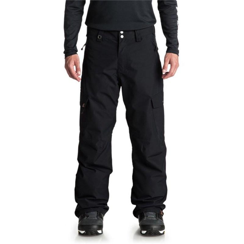クイックシルバー メンズ カジュアルパンツ ボトムス Porter Shell Pants Black