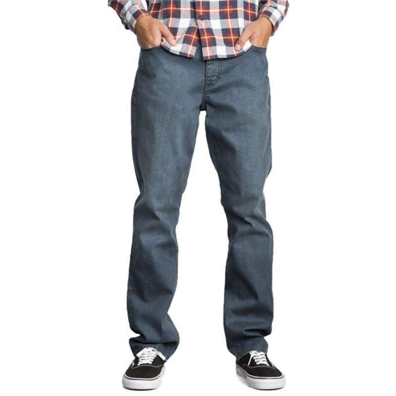 ルーカ メンズ カジュアルパンツ ボトムス Stay RVCA Denim Pants Blue Steel