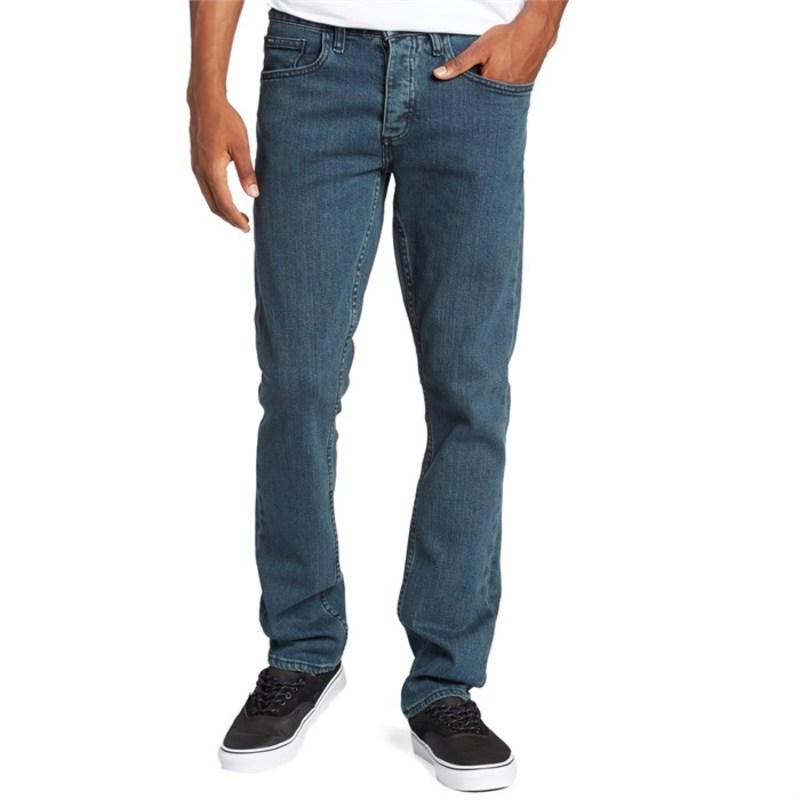 ルーカ メンズ カジュアルパンツ ボトムス Stay RVCA Denim Pants Vintage Blue