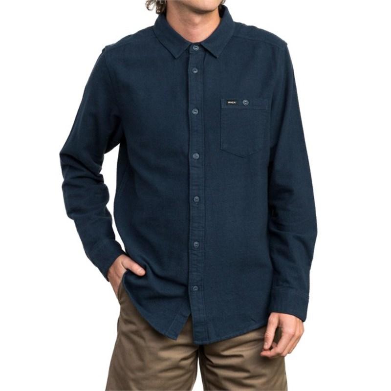 ルーカ メンズ シャツ トップス Public Work Flannel Shirt Seattle Blue