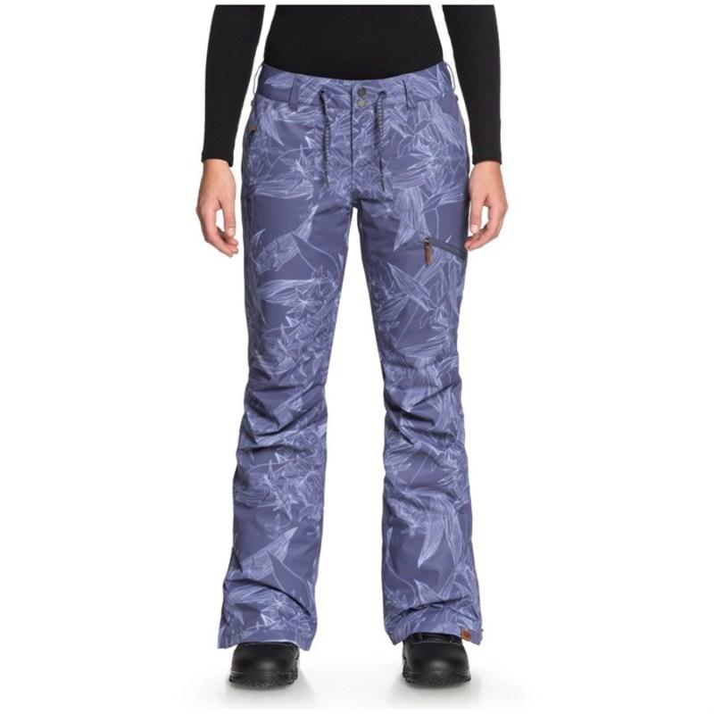 ロキシー レディース カジュアルパンツ ボトムス Nadia Printed Pants - Women's Crown Blue_Washed Floral