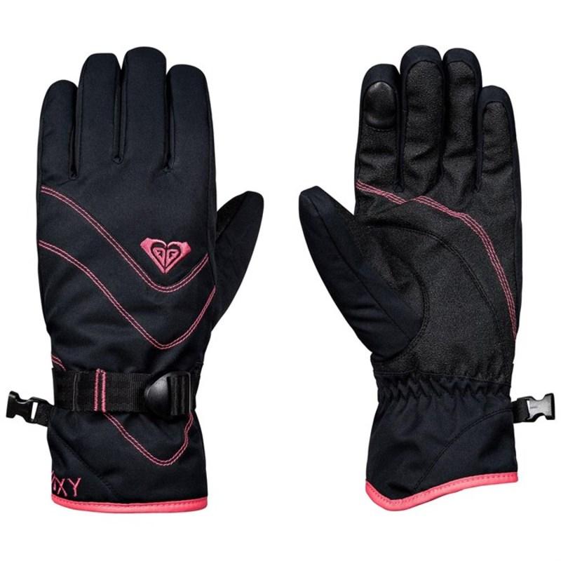 ロキシー レディース 手袋 アクセサリー Jetty Solid Gloves - Women's True Black