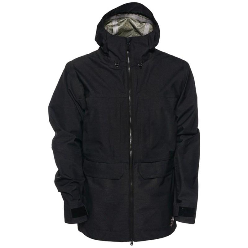 サガ メンズ ジャケット・ブルゾン アウター Monarch 3L Jacket Black